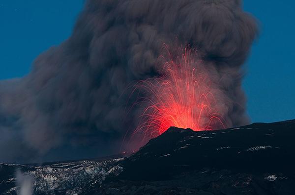 Eyjafjallajökull eruption in 2010