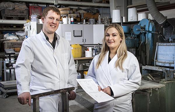 Dr. Kristján Friðrik Alexandersson and Sunna Ó. Wallevik