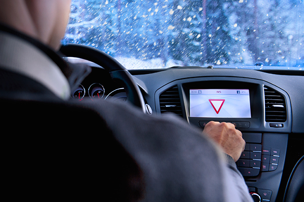 Drive C2X: Activated In-Vehicle Signage function in the winter tests of the Finnish Test site
