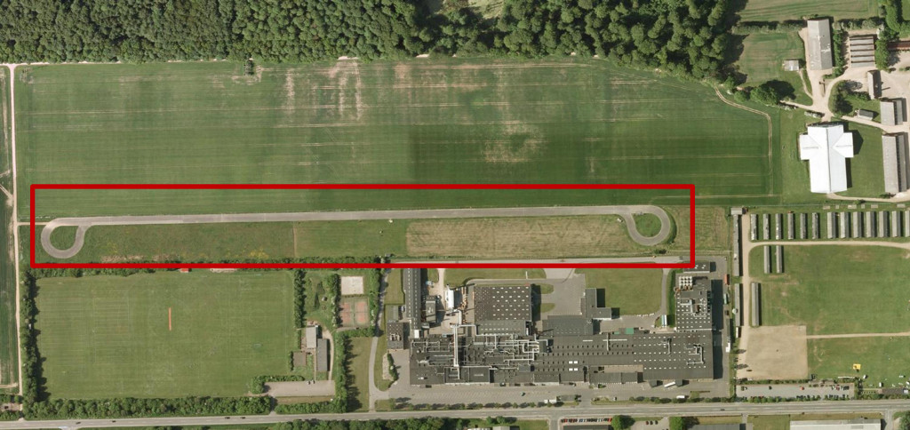 Figure 2. The Bygholm test facility (Source: Google maps)