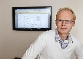 VTI researcher Johan Olstam
