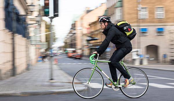 There is a lot we don't know about cyclists, such as how fast they travel.