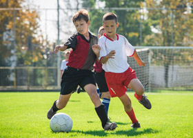 Organized leisure activities, like football, have increased among children.