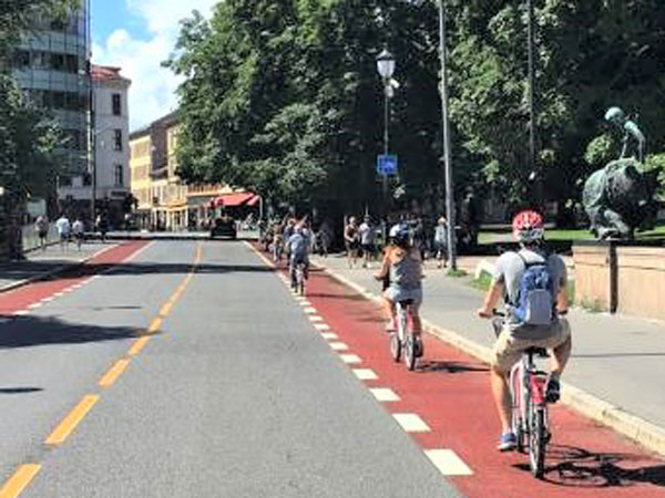 Infrastructure measures increased cycling in Norwegian cities