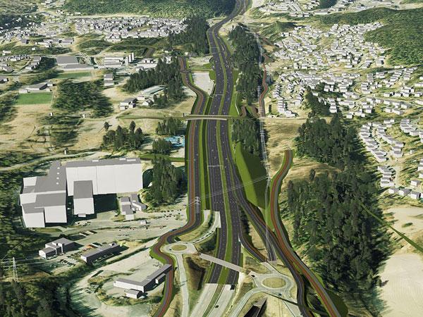 Expanding capacity cause urban sprawl.