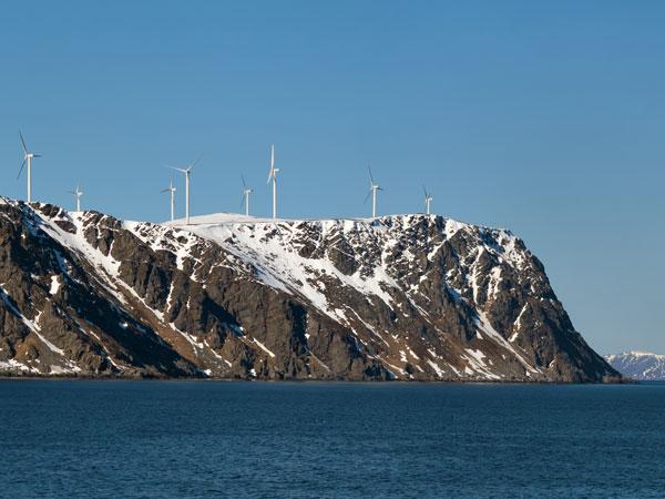 Wind power is an example of renewable energy