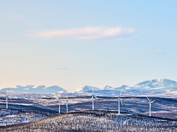 Wind power is a kind of renewable energy