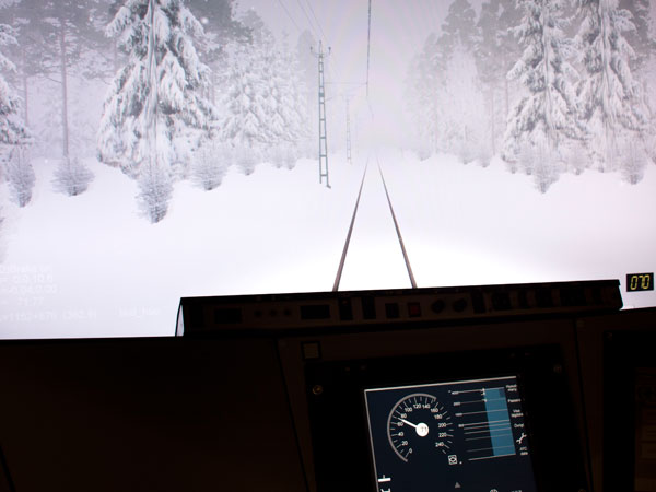 Work with VTI's train simulators continues to develop, largely thanks to collaboration with train operators and instructors.