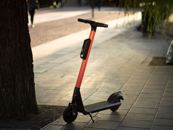 Electric scooters fall within the scope of smart mobility, as do self-driving cars and buses and connected vehicles that can communicate with one another and with a traffic control centre.